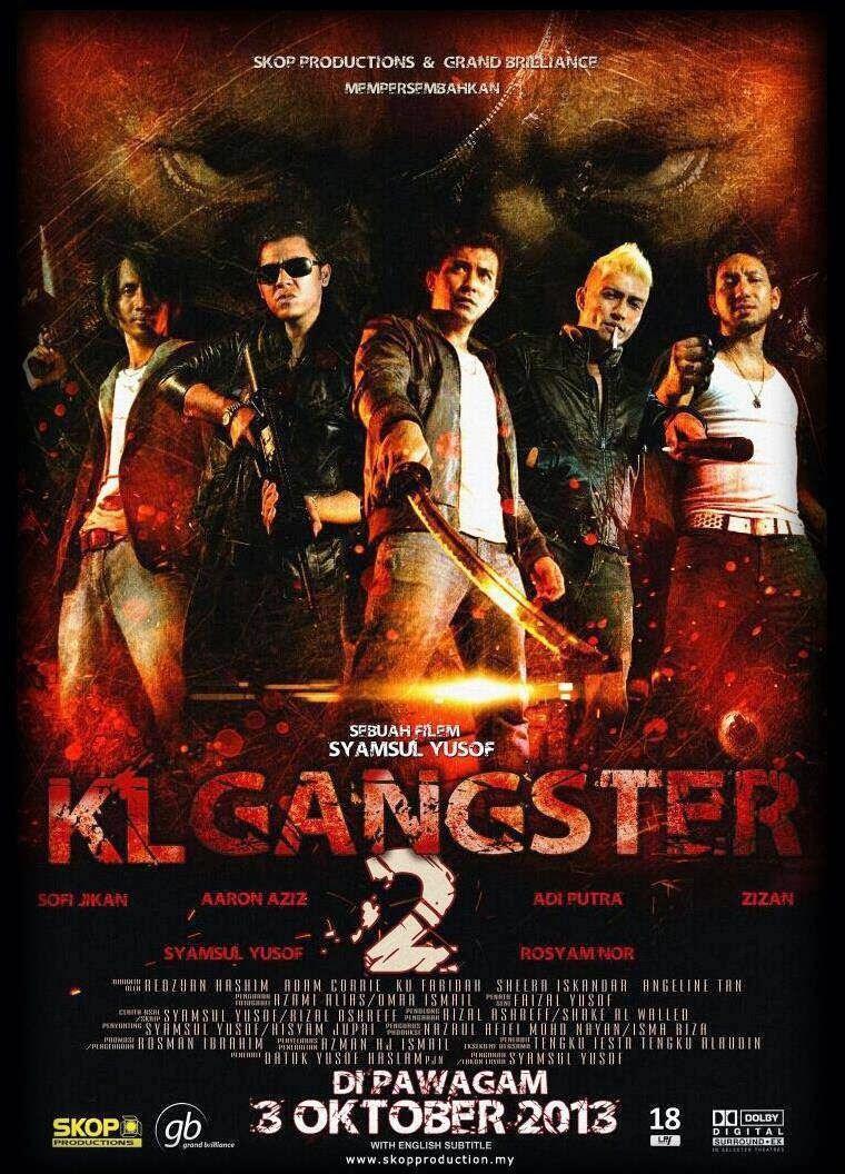 Poster,KL Gangster 2, Filem,kereta