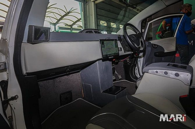 Is The MyKar Electric Vehicle Really Feasible Interior