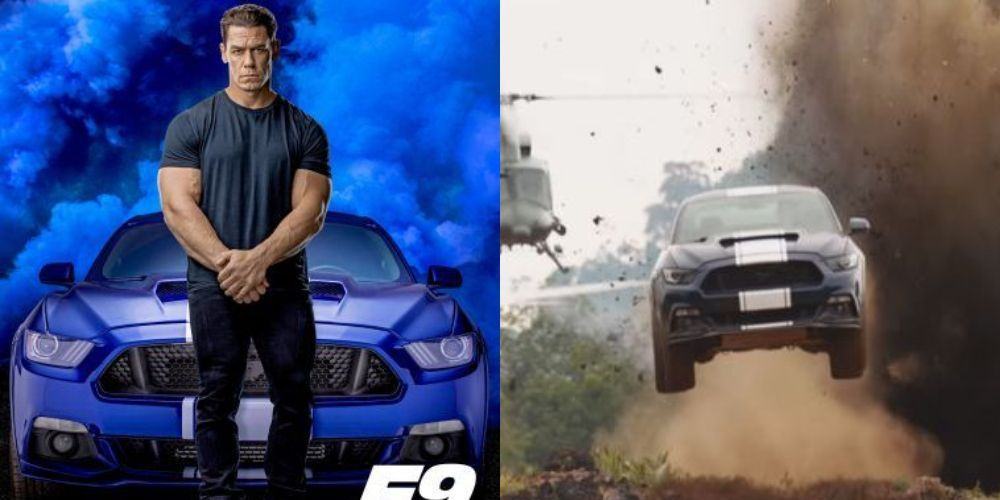 Ford Mustang GT350,Fast and Furious 9,John Cena
