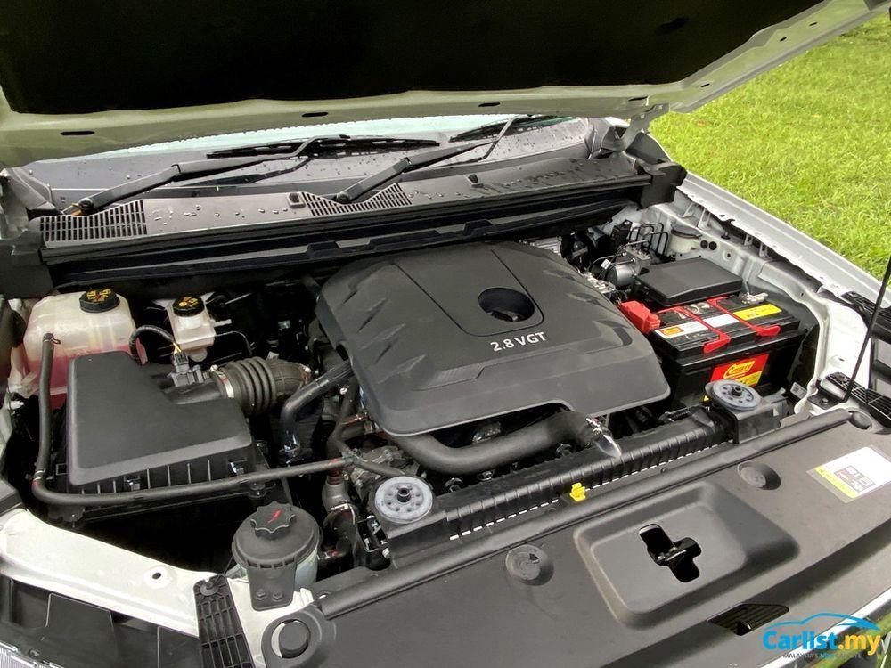 2020 Maxus T60 2.8L Engine