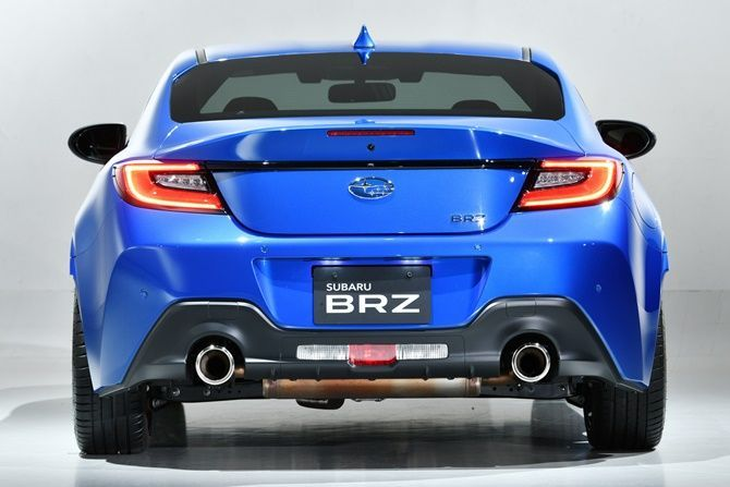 2021 Subaru Launches BRZ In Japan Rear