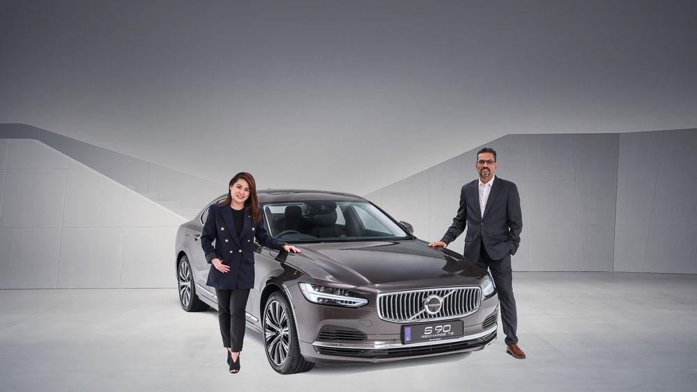 Akhtar Sulaiman, Volvo Car Malaysia S90 T8 Recharge
