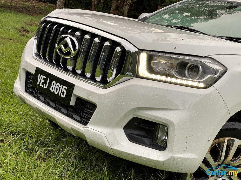 2020 Maxus T60 2.8L Front