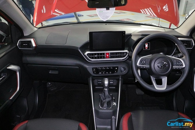 The Perodua Ativa and more vs Global Chip Shortages Interior