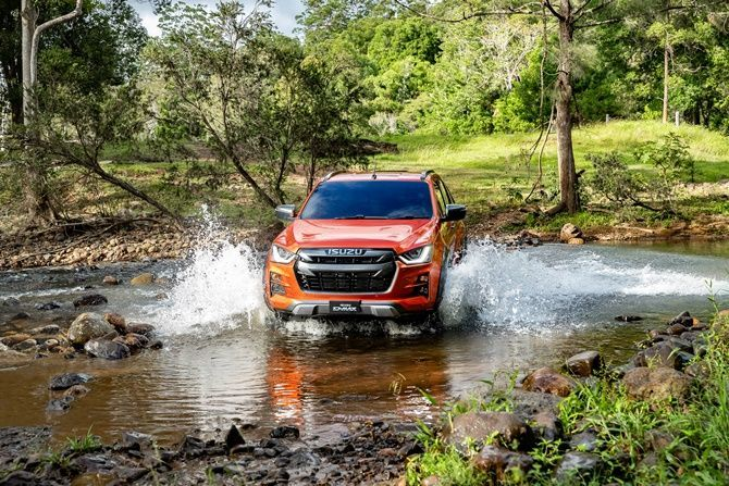 The Isuzu D Max Will Come With More Than We Expected River Crossing