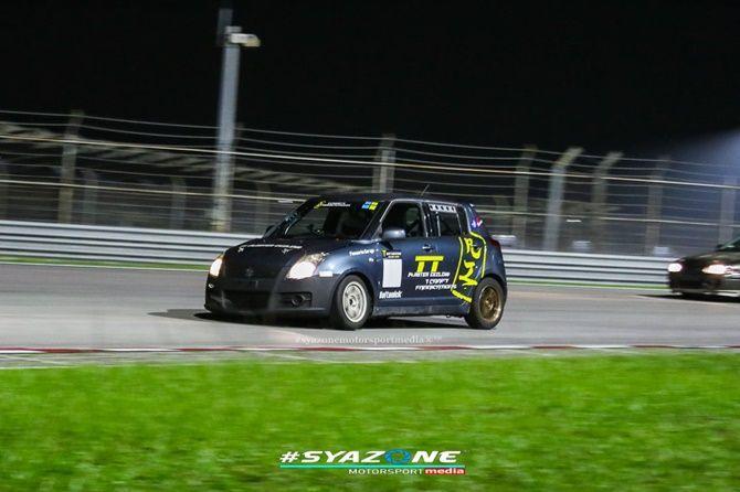 Suzuki Swift Sport Race Car Sepang