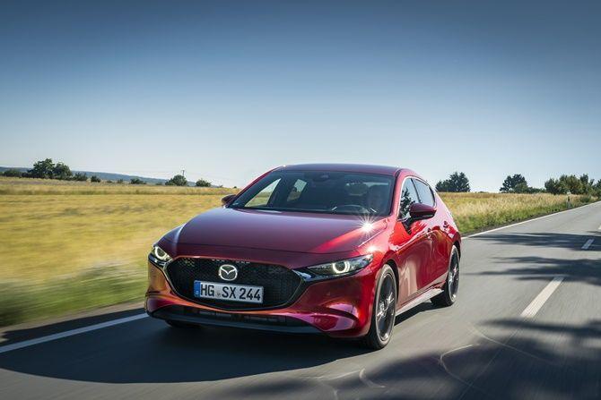 Soul Red - Mazda 3 Liftback
