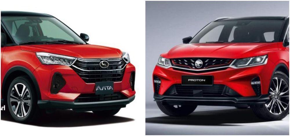 Perodua Ativa AV VS Proton X50 Standard