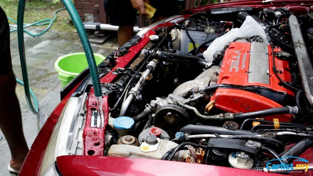 DIY ENGINE CLEAN 101 - HONDA ENGINE