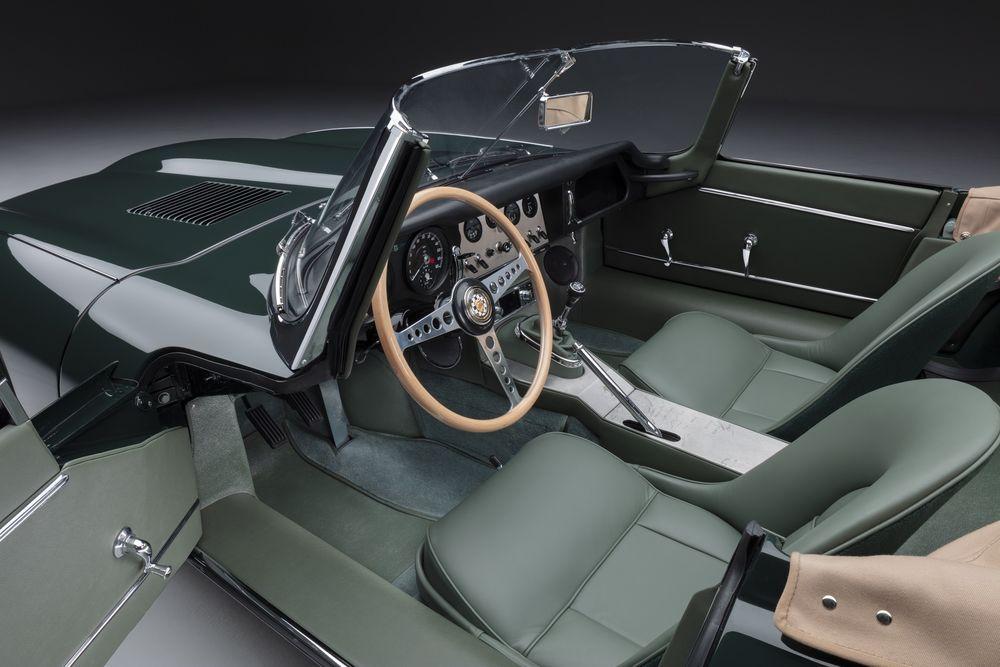 Jaguar E-type 60 Anniversary Roadster Interior