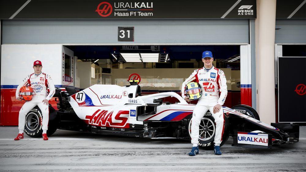 Haas F1 VF21