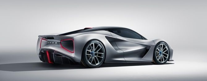 Lotus To Completely Refresh Its Lineup This Summer Thanks To Geelys Financing Evija Rear Three Quarter