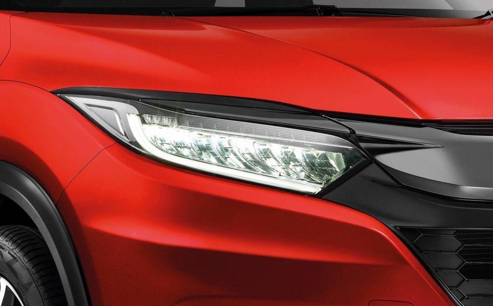 Lampu hadapan LED yang terbaru Honda HR-V 2021