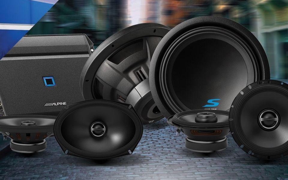 Alpine Audio - Speakers