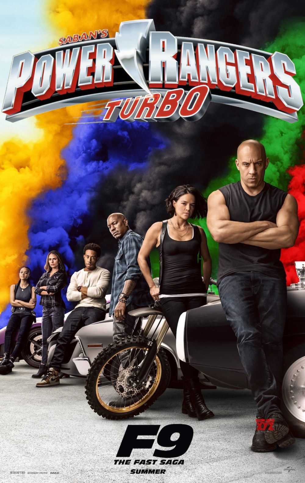 power rangers,fast and furious 9