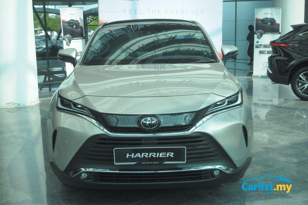 Toyota Harrier 2021,Malaysia