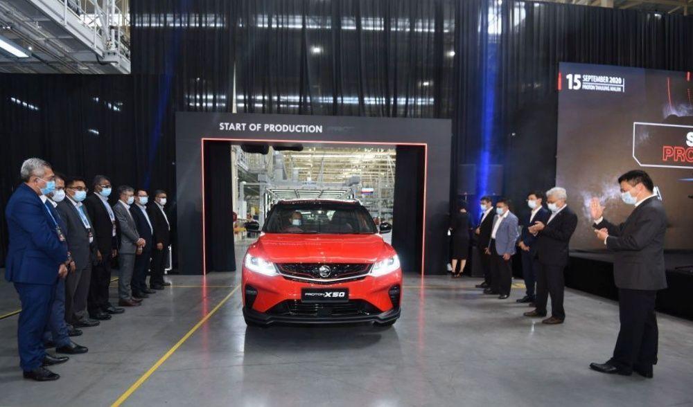 2021 Proton X50 - Tanjung Malim