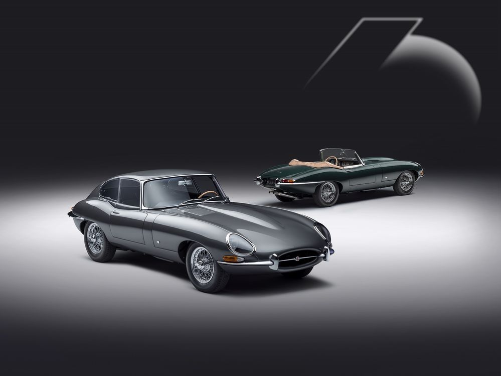 Jaguar E-type 60 Anniversary Roadster Coupe
