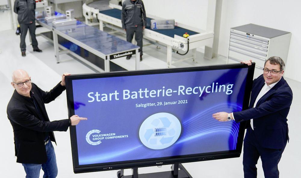 Volkswagen Battery Recycling