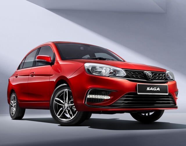 Proton Saga,2021,facelift