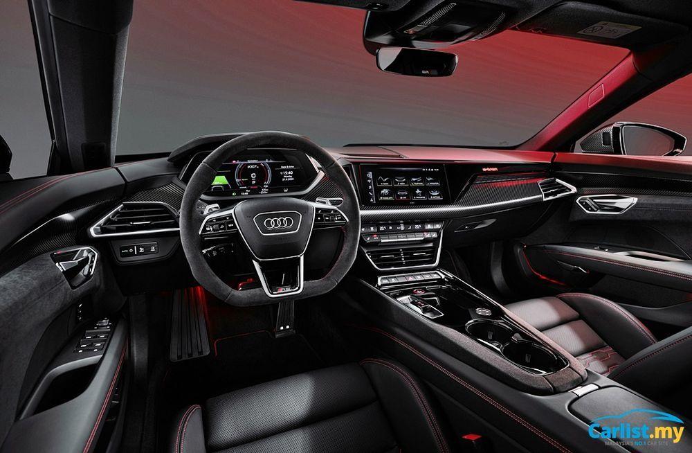 2021 Audi E-Tron GT Interior