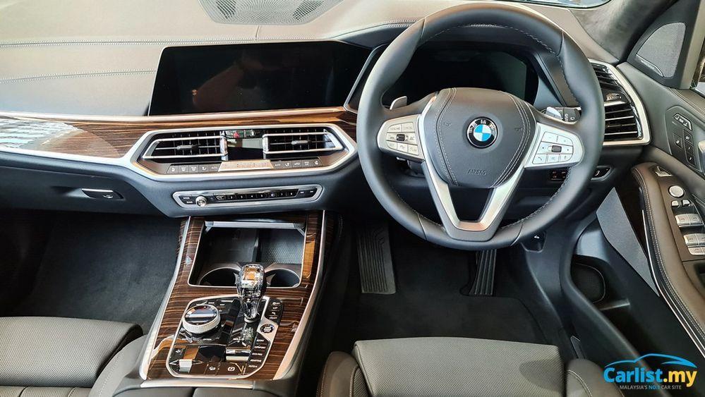 2021 BMW X7 xDrive40i Dashboard