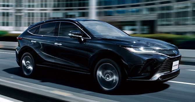 2021 Toyota Harrier Coming Soon To Malaysia Front Side