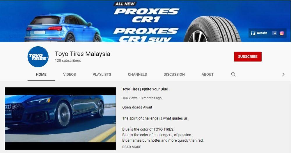 Toyo Tires Malaysia Facebook