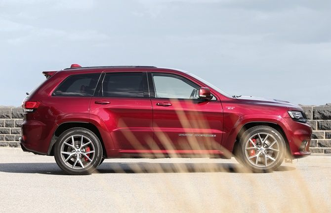 Jeep Malaysia Launches Grand Cherokee SRT And Trackhawk Side View