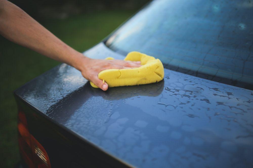 sanitasi kereta secara DIY