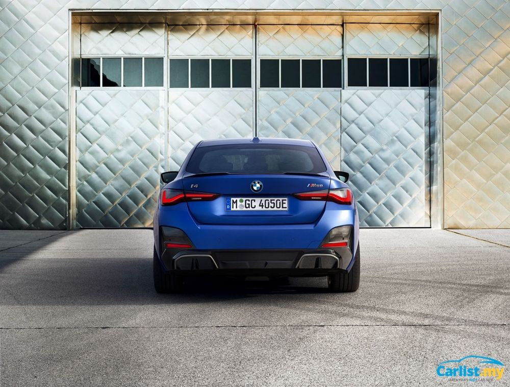 2021 BMW i4 M50 back