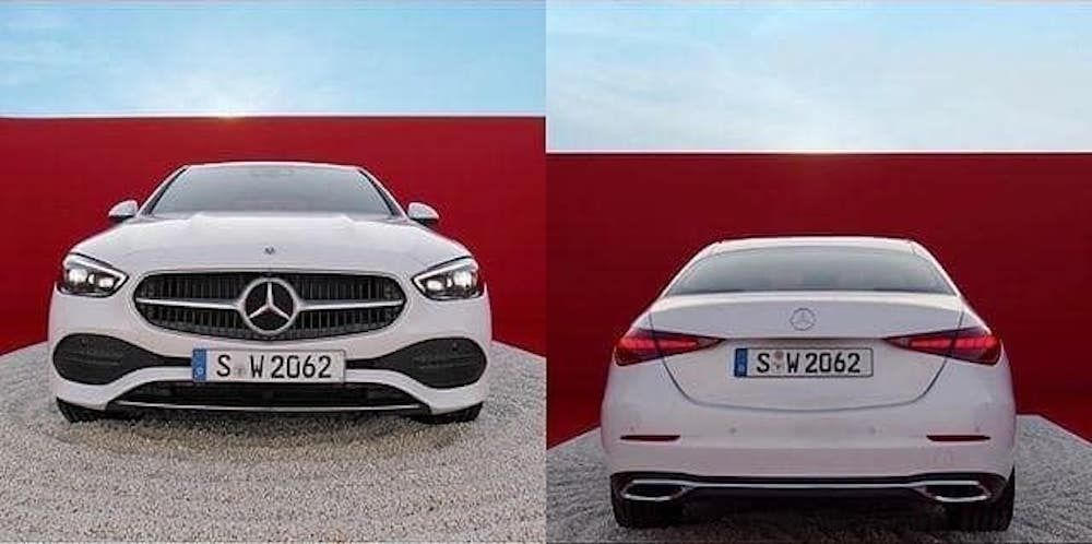 2021 Mercedes-Benz C-Class - W206 - Leaked