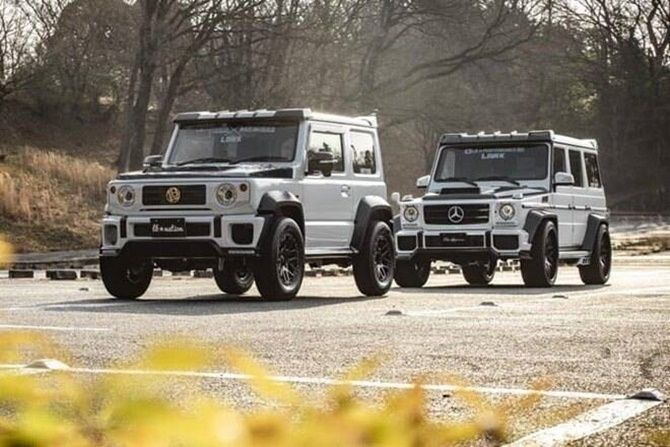 Five Reasons Why People Want The New Suzuki Jimny Right Now Mini G Body Kit G Wagen