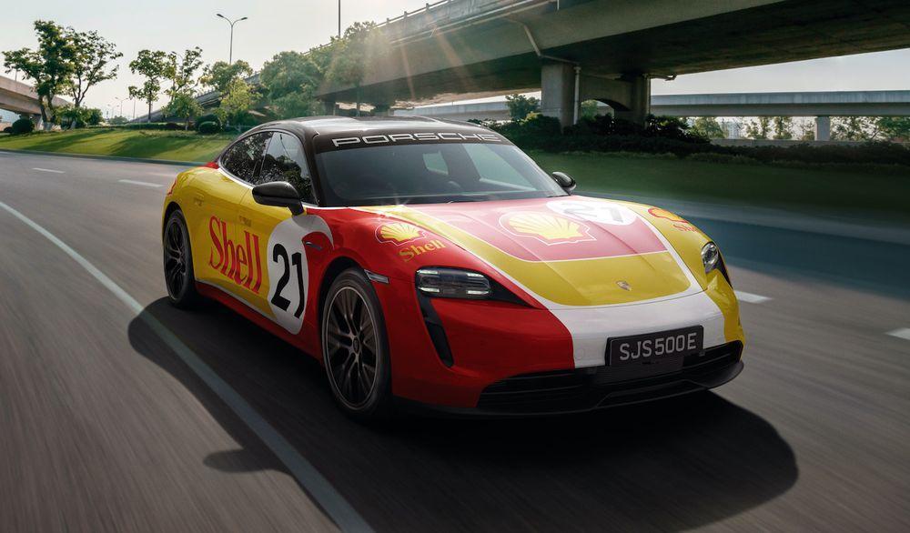 Porsche Taycan - Shell
