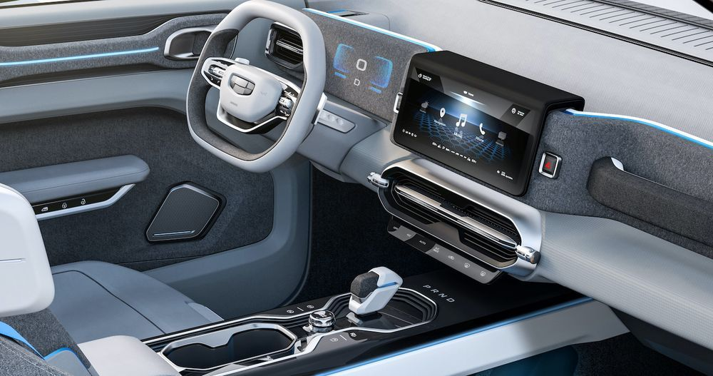 2019 Geely ICON Concept