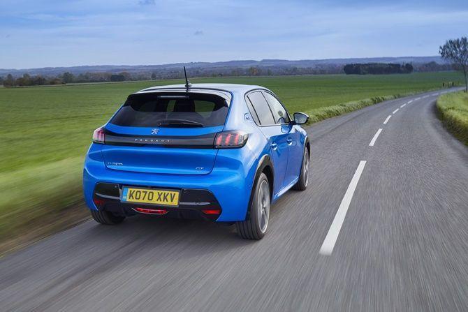 2020 Peugeot 208 rear