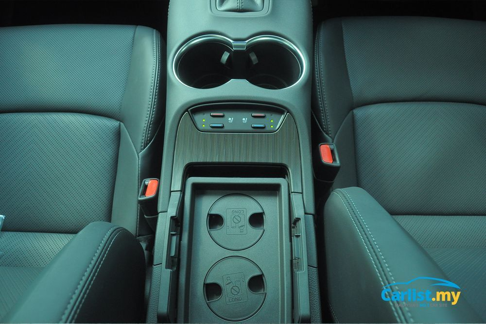 Toyota Harrier 2021,Malaysia,interior,cup holders