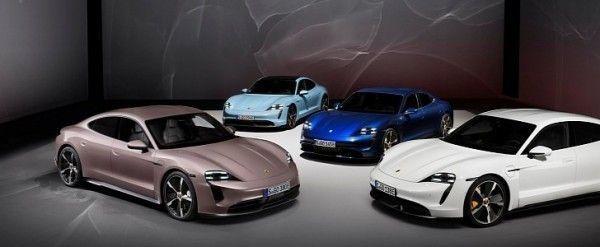 Porsche Taycan family