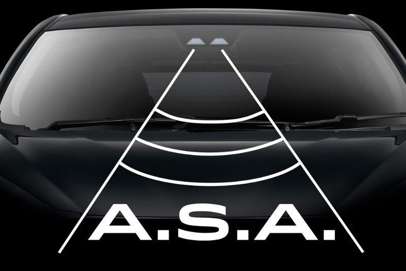 Advance safety assisst, ASA 3.0, Perodua D55L, kamera Stereo