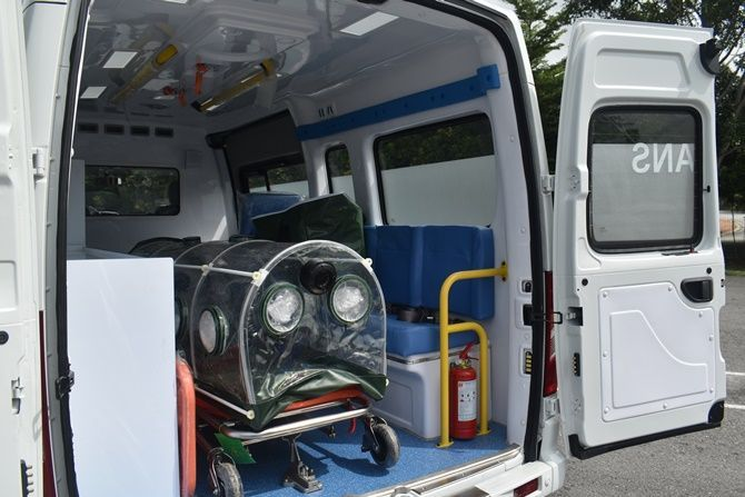 Westar Maxus Has A Negative Pressure Ambulance That Stops Viruses From Getting Out Internal