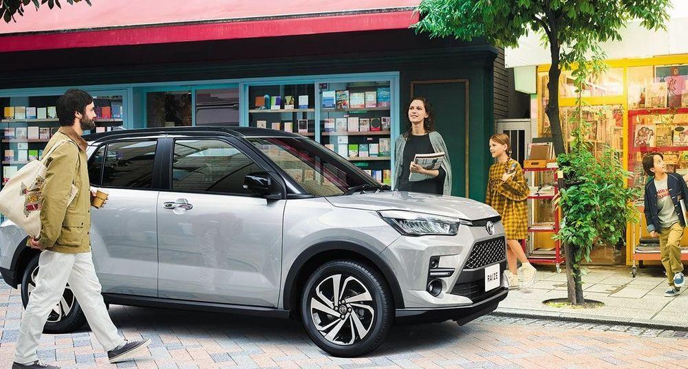 Perdoua Ativa VS Daihatsu Rocky VS Toyota Raize keyless entry