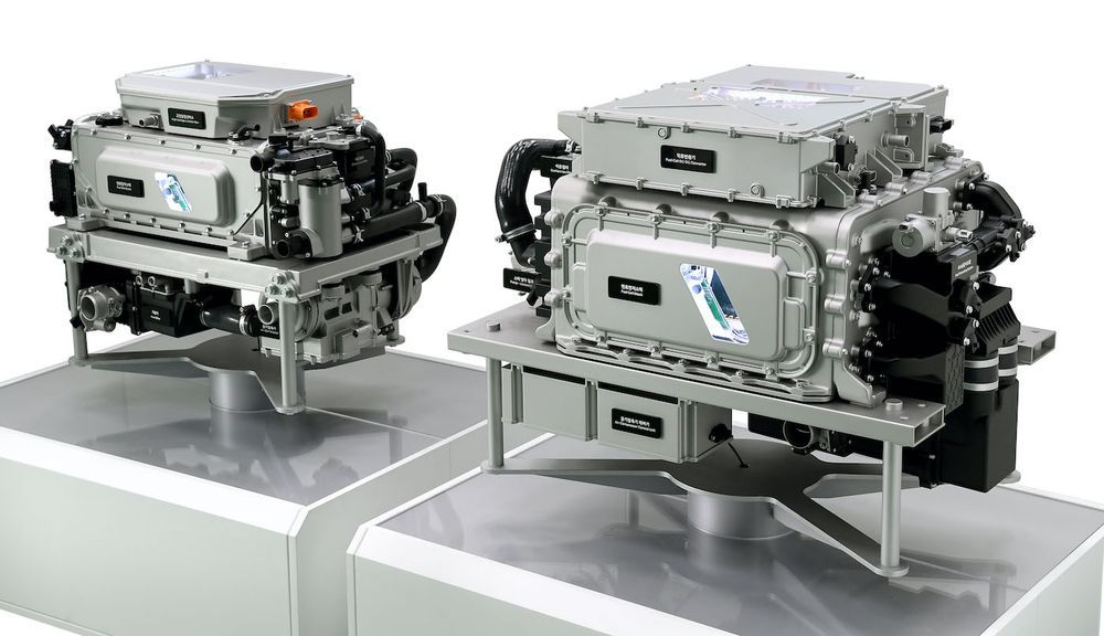Hyundai Hydrogen Fuel Cell 3rd Generation