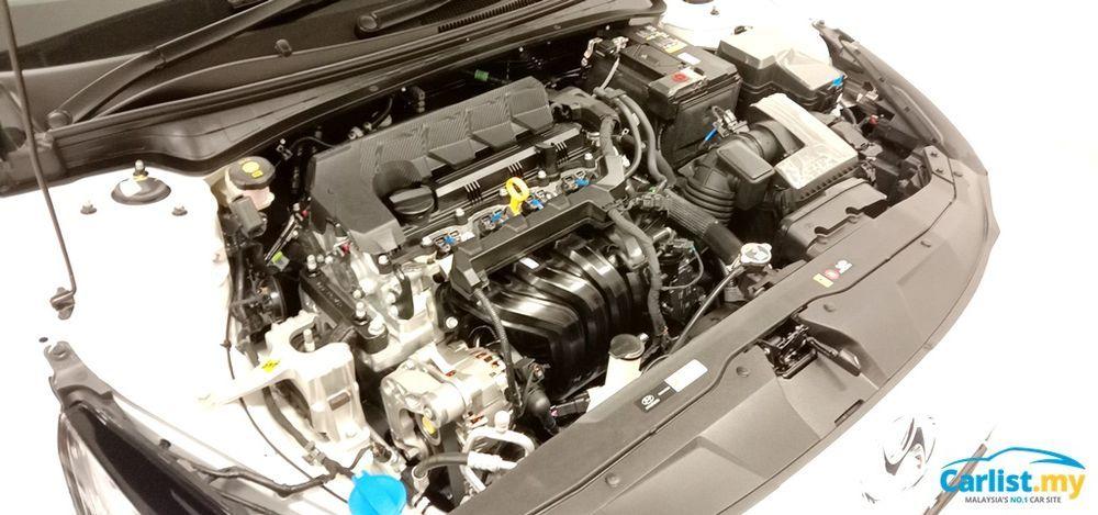 2020 Hyundai Elantra CN7 Engine