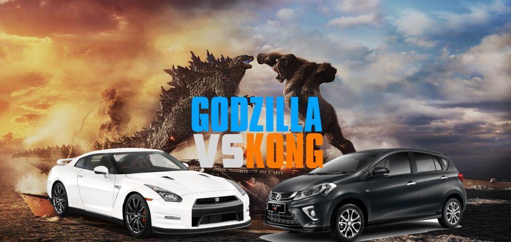 Poster filem ini amat sesuai dengan kemalangan yang membabitkan dua kenderaan ini.