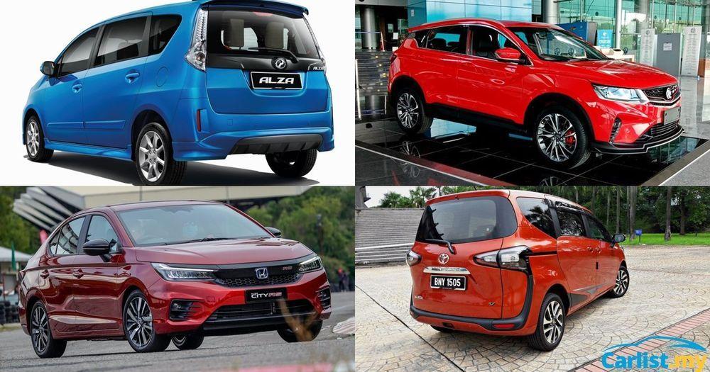 2020 MPV VS SUV - Proton X50, Perodua Alza, Honda City