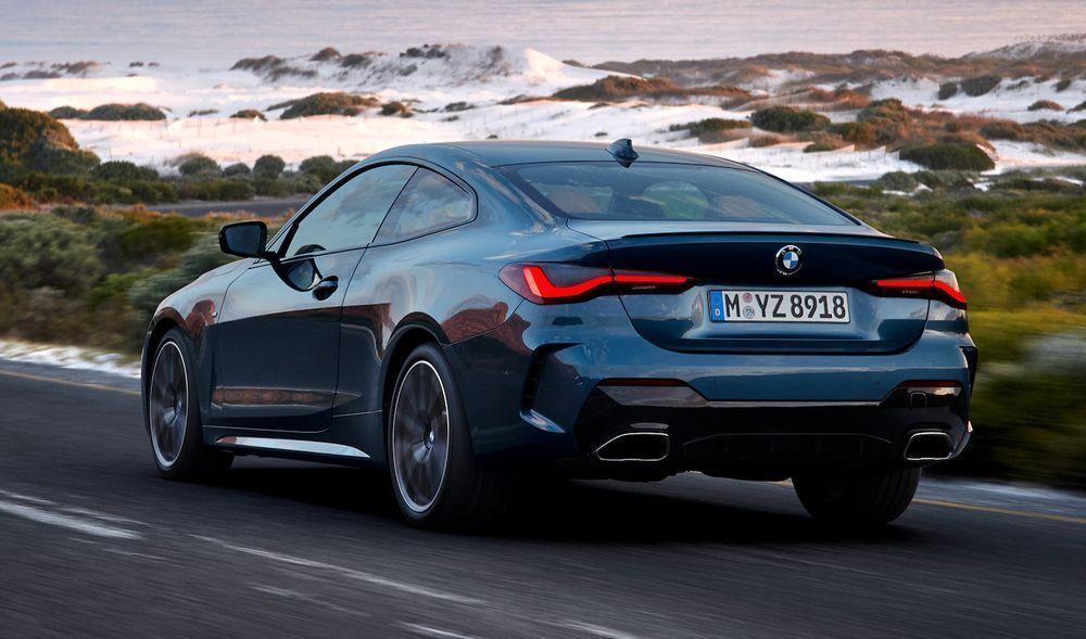 2021 BMW 430i rear