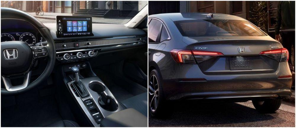2022 Honda Civic Sedan Interior