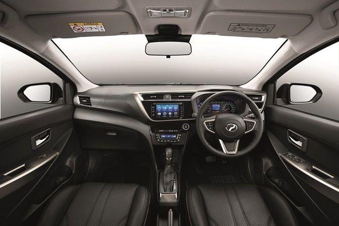 Perodua Myvi Third Gen interior