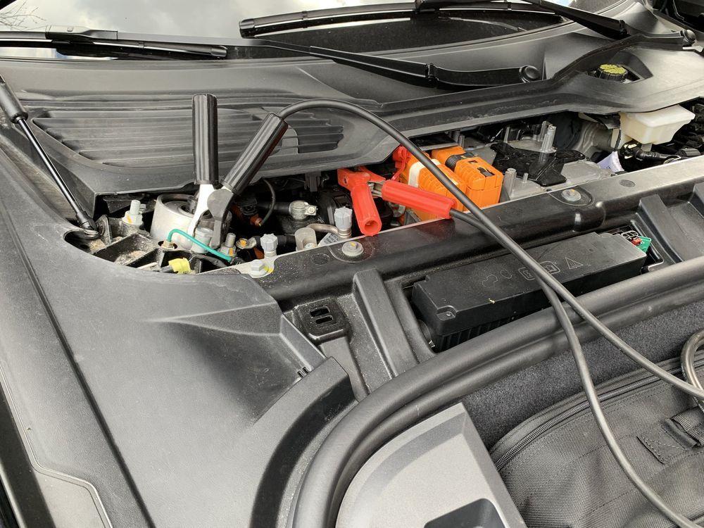 2021 Porsche Taycan 12v battery power loss
