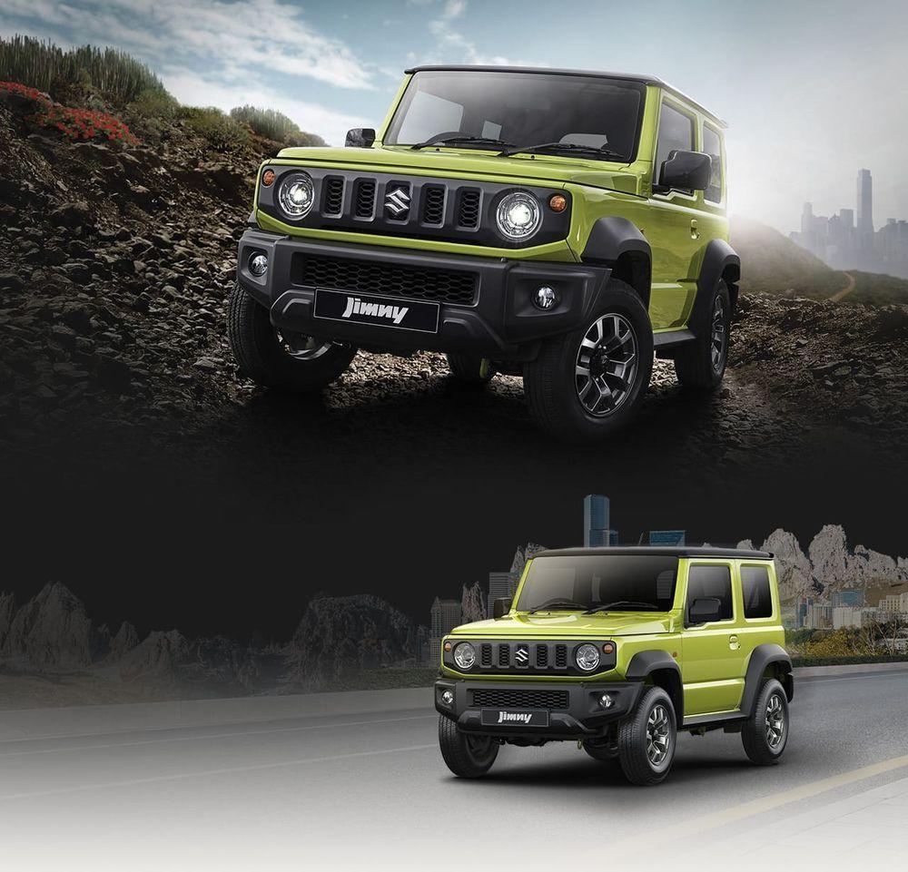 Naza Group,Suzuki,Model Baharu,Suzuki Jimny,Generasi Keempat,2021